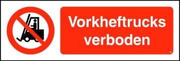 Vorkheftrucks verboden