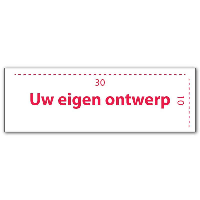 Maatwerk verbodsbord dibond 30 x 10 cm specialist in verbodsborden parkeerborden - Zoom ontwerp ...