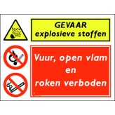 GEVAAR explosieve stoffen