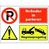 Verboden te parkeren / Wegsleepregeling