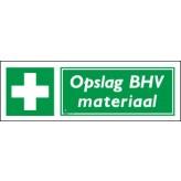 Opslag BHV materiaal 30 x 10 cm