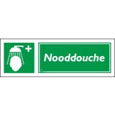 Nooddouche 30 x 10 cm