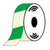 Nalichtende tape groen 1000  x 4 cm