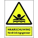 Waarschuwing verdrinkingsgevaar