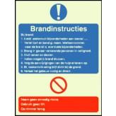 Brandinstructies