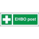 EHBO post