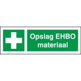 Opslag EHBO materiaal
