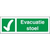 Evacuatiestoel
